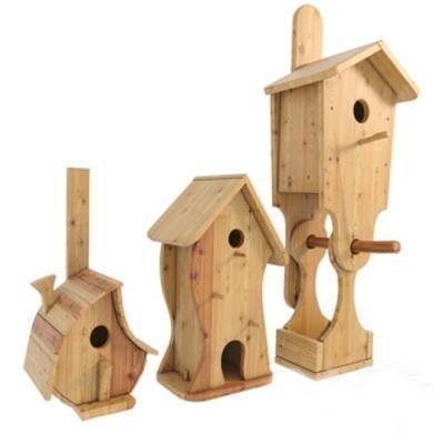 木艺手工艺玩具房子