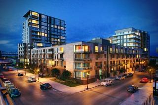 建筑室外空间,大厦,写字楼,商业楼