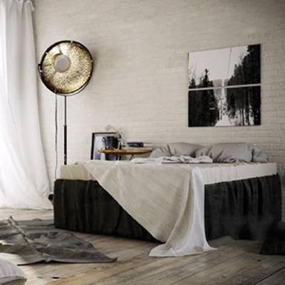 灯, 床具, 床具组合, 北欧简约, 摆设品