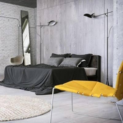 椅子, 置物架, 床具, 床具组合, 北欧简约, 摆设品