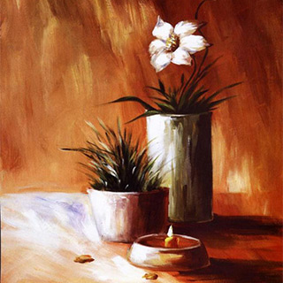 花卉装饰画