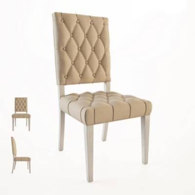 单人椅, 现代椅子, 简约, 美式风格