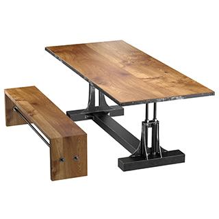 工业风桌椅组合