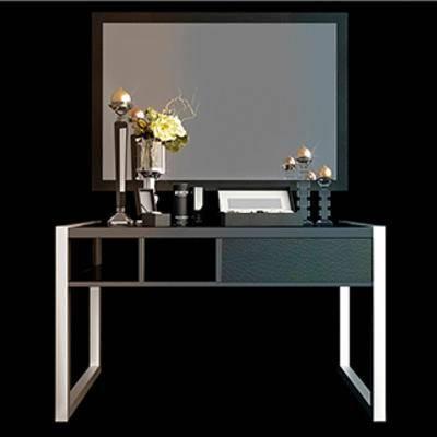 组合, 边柜, 后现代, 摆设品, 下得乐3888套模型合辑