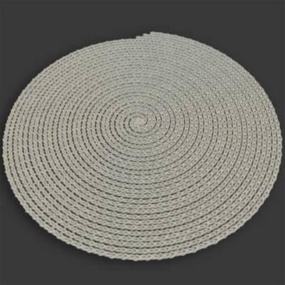 灰色圆形, 地毯, 布艺, 现代简约