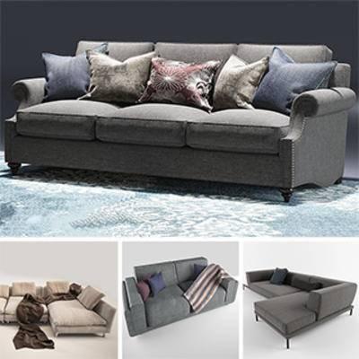 沙发模型合集, 模型合集, 家具, 北欧沙发, 美式, 现代, 沙发