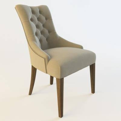 单人椅, 现代椅子, 美式风格