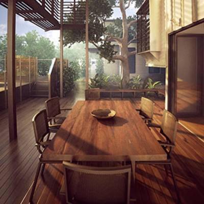 阳如, 户外, 花园, 桌椅组合, 东南亚