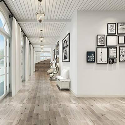 简约, 过道, 走廊, 灯, 北欧, 装饰画组合
