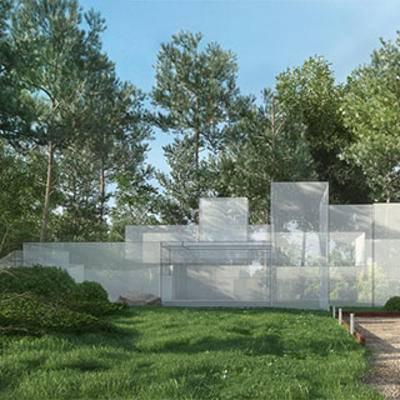 室外空间, 园林, 景观, 植物