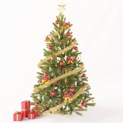 派对, 圣诞树, 装饰
