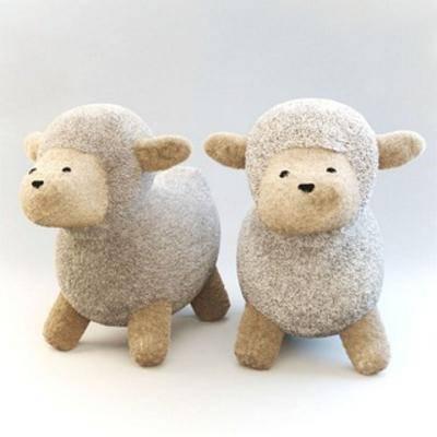 玩偶娃娃, 绵羊, 儿童玩具