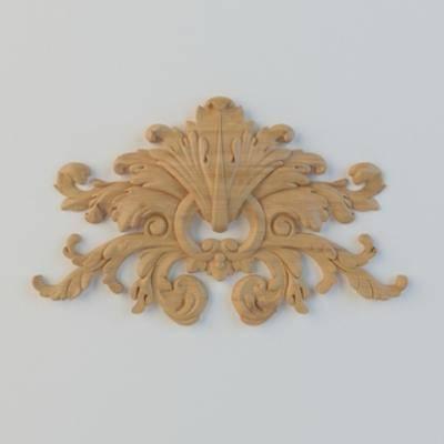 木雕, 雕花, 构件, 欧式