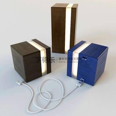 现代电器, 国外模型, 音响, 现代简约, 台灯, 音响组合