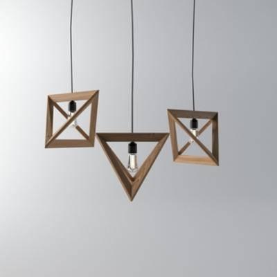 国外模型, 北欧, 简约, 现代吊灯, 灯饰, 吊灯