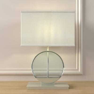 现代简约, 台灯, 灯饰