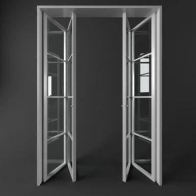 國外模型, 折疊門, 現代簡約