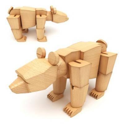 木头, 玩具, 儿童, 现代