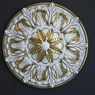 金属雕花构件