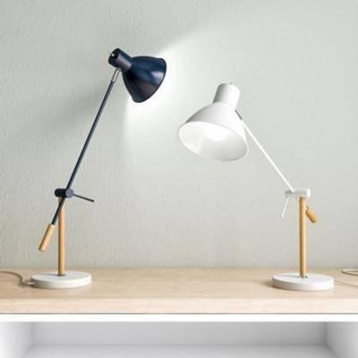 国外模型, 北欧, 简约, 台灯, 灯饰