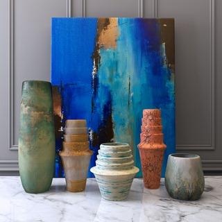 陶瓷陈设品组合