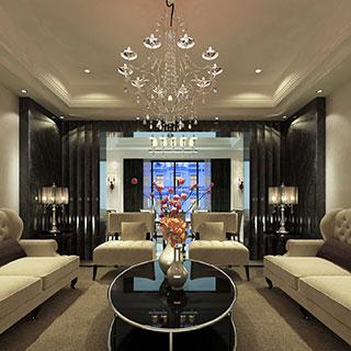 欧式,沙发茶几组合,现代,屏风,客厅,灯,陈设品