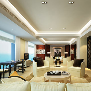 椅子,沙发,桌椅组合,屏风,客厅,新中式,陈设品