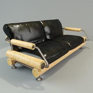 多人沙发,工业风,现代