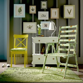 美式,组合,边柜,田园,装饰画,单椅