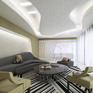 沙发茶几组合,现代简约,窗帘,客厅,陈设品
