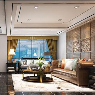 沙发茶几组合,现代,客厅,灯,陈设品,边几,混搭