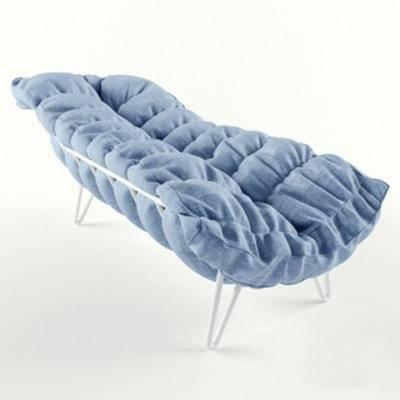 国外模型, 沙发床, 休闲, 现代简约