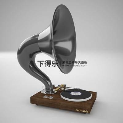 留音机, 留声机, 美式, 现代, 简约