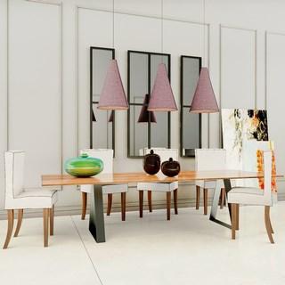 美式现代餐桌椅组合