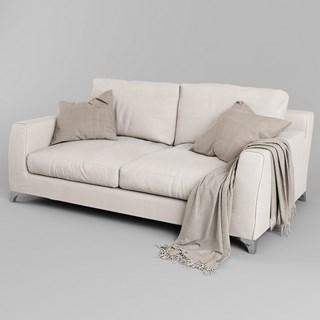 现代简约多人沙发