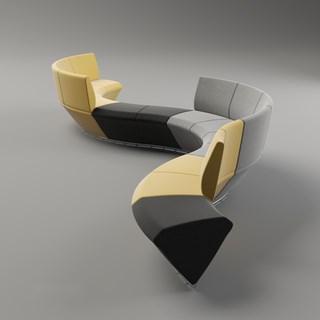 椅子,简约,现代,公共椅
