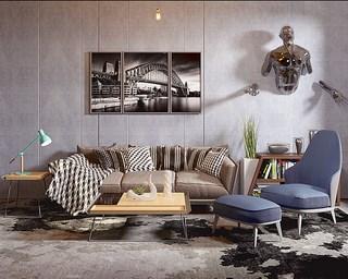 沙发,沙发茶几组合,简约,组合,茶几,北欧