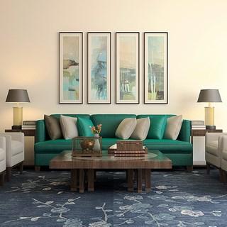 沙发,沙发茶几组合,组合,茶几,新中式