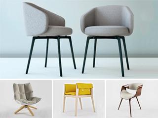 模型,合集,单人椅,北欧简约