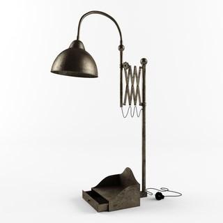 工业风格铁艺台灯