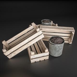 木架托盘陈设品