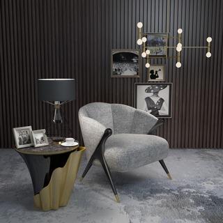 简约,组合,后现代,边几,单人椅,单椅