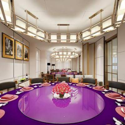 餐具, 简约餐厅, 现代餐厅, 后现代, 餐厅, 现代简约, 简约, 餐桌椅组合