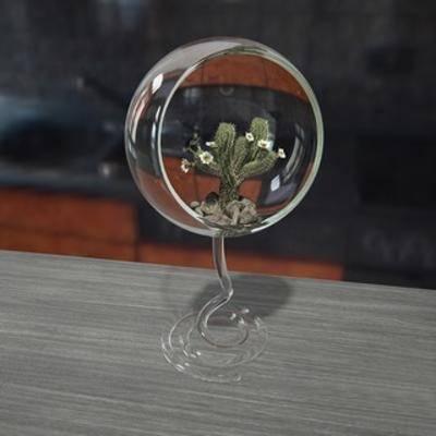 国外模型, 摆设品, 陈设品, 陈列品, 现代简约, 现代, 盆栽, 植物