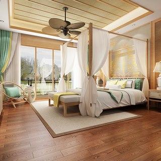 东南亚简约卧室