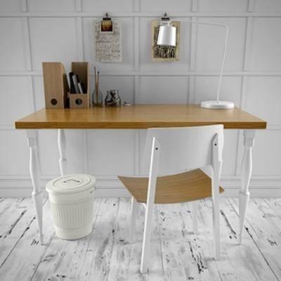 现代, 现代简约, 组合, 办公桌椅, 现代桌椅组合