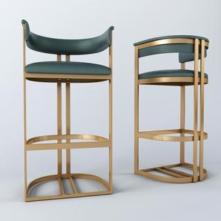 简约,现代椅子,吧椅,后现代,吧凳,国外模型