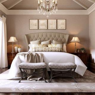 美式简约卧室