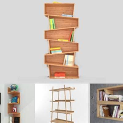 模型合集, 合集, 现代书柜, 书柜, 现代简约, 书柜合集