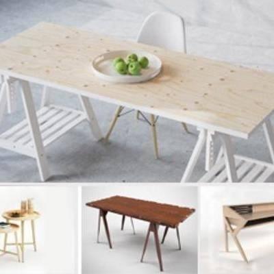 模型, 桌子, 合集, 模型下载, 模型合集, 现代